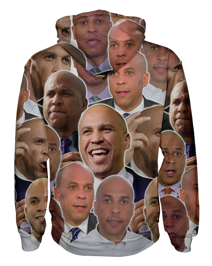Cory Booker Pullover Hoodie