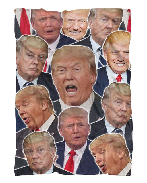 Donald Trump printed all over in HD on premium fabric. Handmade in California.