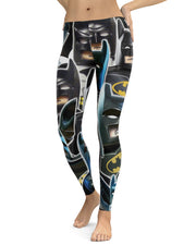 Lego Batman Collage Leggings