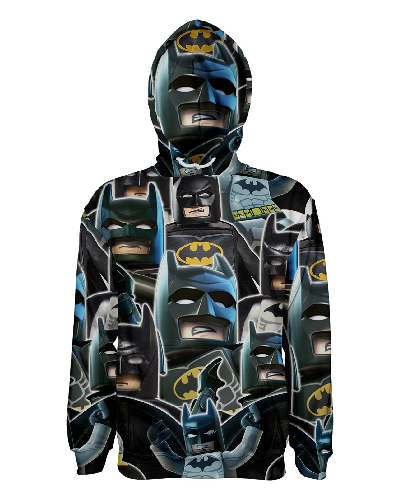 Lego Batman Collage Pullover Hoodie