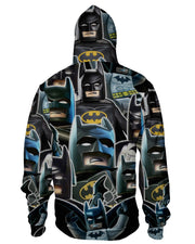 Lego Batman Collage Zip Hoodie