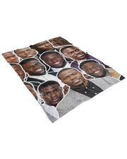 Kevin Hart Fluffy Microfleece Throw Blanket