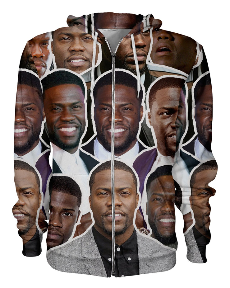Kevin Hart printed all over in HD on premium fabric. Handmade in California.