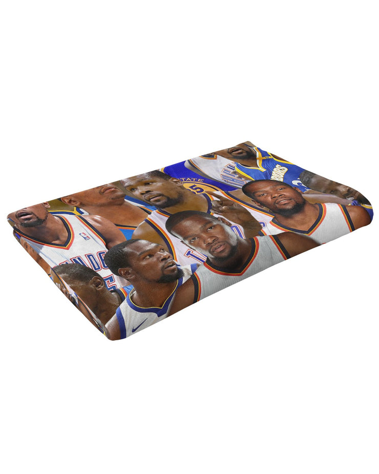 Kevin Durant Fluffy Micro Fleece Throw Blanket