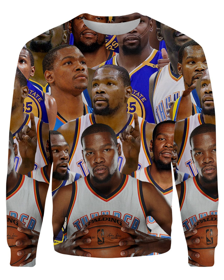 Kevin Durant printed all over in HD on premium fabric. Handmade in California.