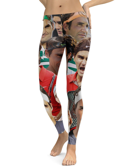 Roger Federer printed all over in HD on premium fabric. Handmade in California.