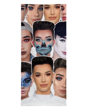 James Charles printed all over in HD on premium fabric. Handmade in California.