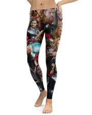 Thor printed all over in HD on premium fabric. Handmade in California.