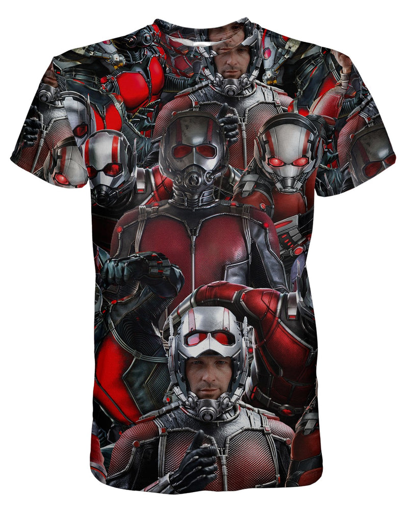 Ant Man printed all over in HD on premium fabric. Handmade in California.
