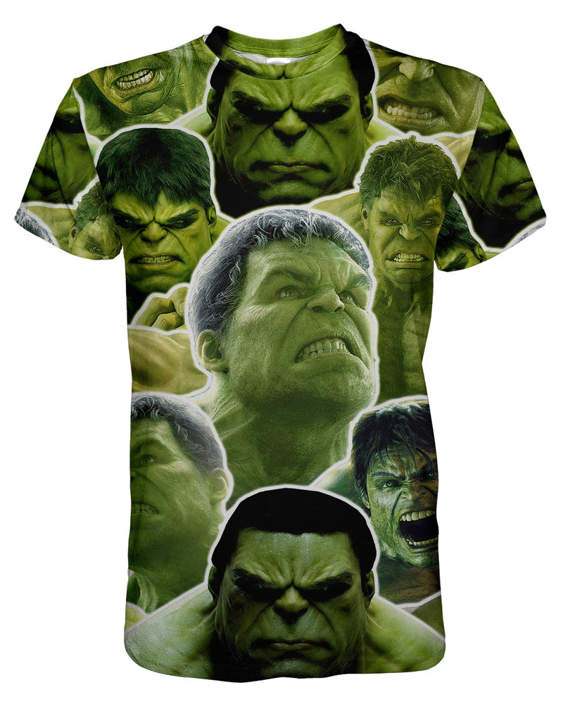 Hulk printed all over in HD on premium fabric. Handmade in California.