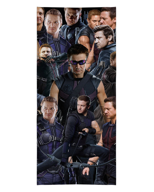 Hawkeye printed all over in HD on premium fabric. Handmade in California.