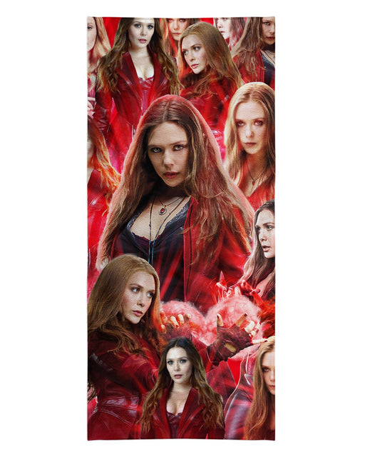 Scarlet Witch printed all over in HD on premium fabric. Handmade in California.