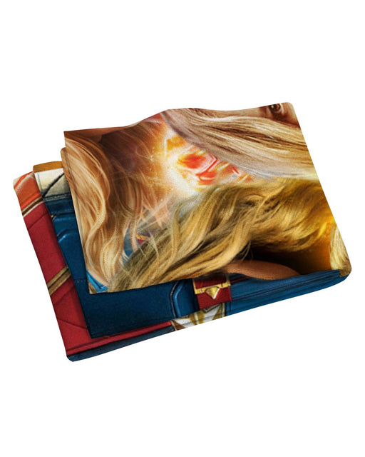 Captain Marvel Beach Towel
