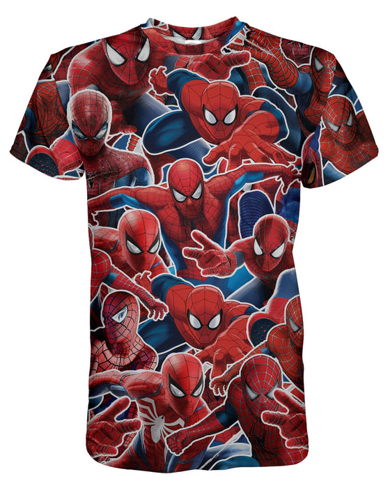 Spider Man printed all over in HD on premium fabric. Handmade in California.