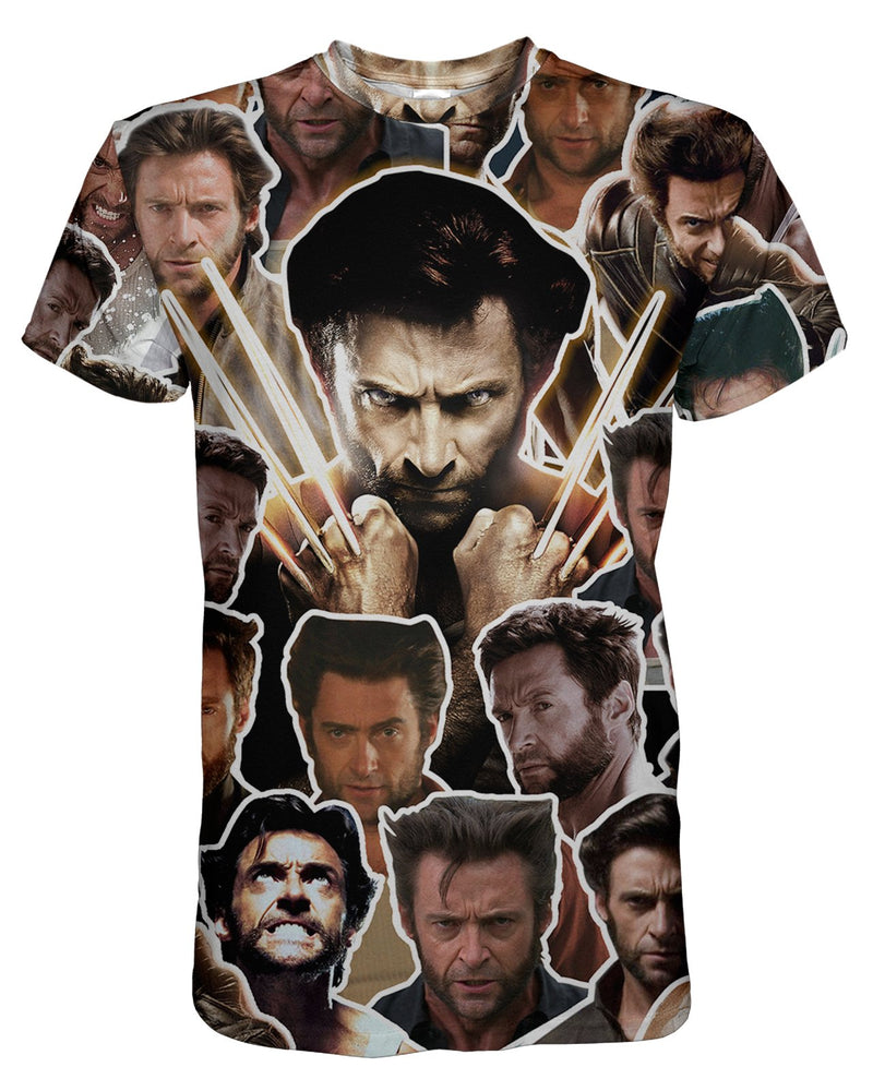 Wolverine printed all over in HD on premium fabric. Handmade in California.