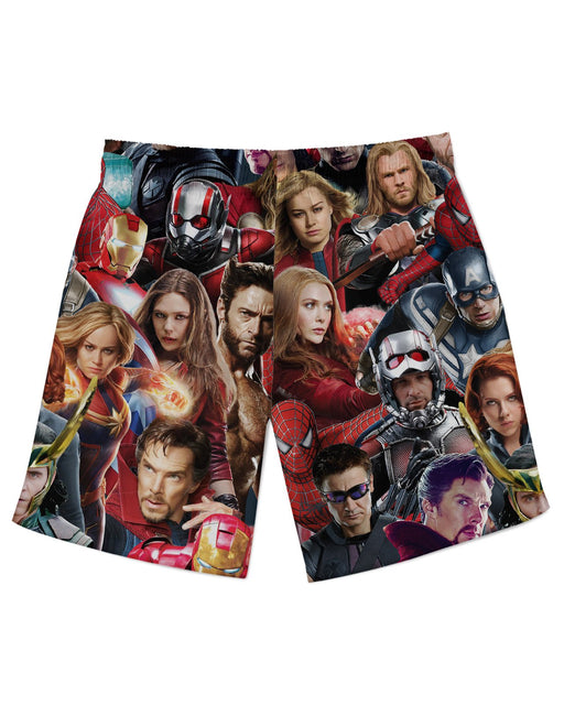 Avengers Athletic Shorts