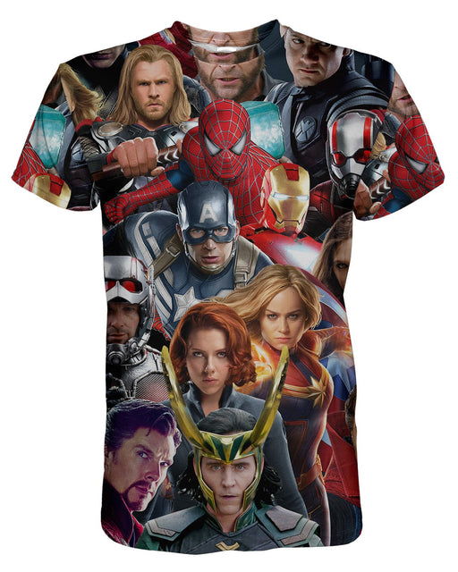 Avengers printed all over in HD on premium fabric. Handmade in California.