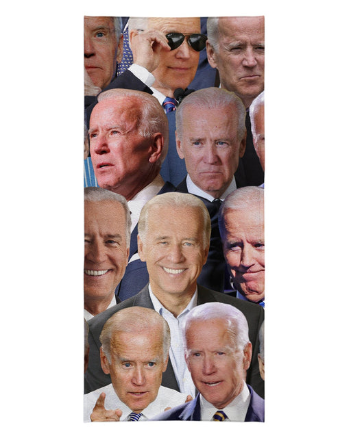 Joe Biden printed all over in HD on premium fabric. Handmade in California.