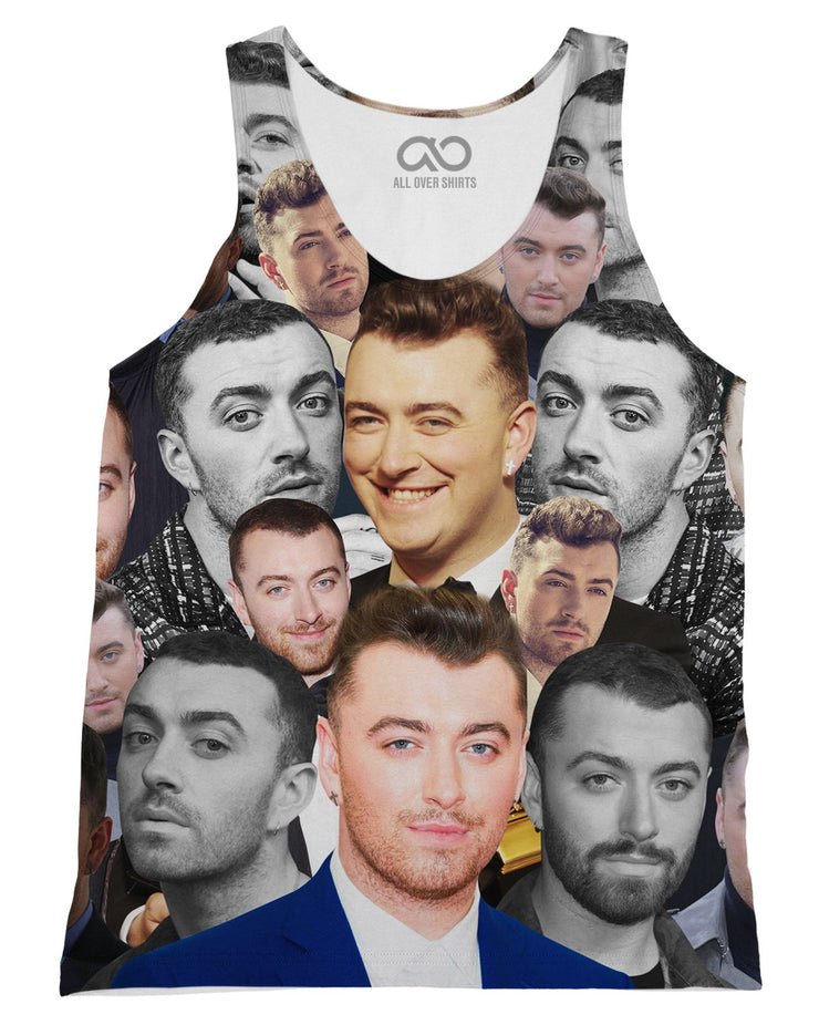 Sam Smith printed all over in HD on premium fabric. Handmade in California.