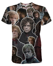 Tyrion Lannister printed all over in HD on premium fabric. Handmade in California.