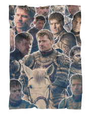 Jaime Lannister printed all over in HD on premium fabric. Handmade in California.
