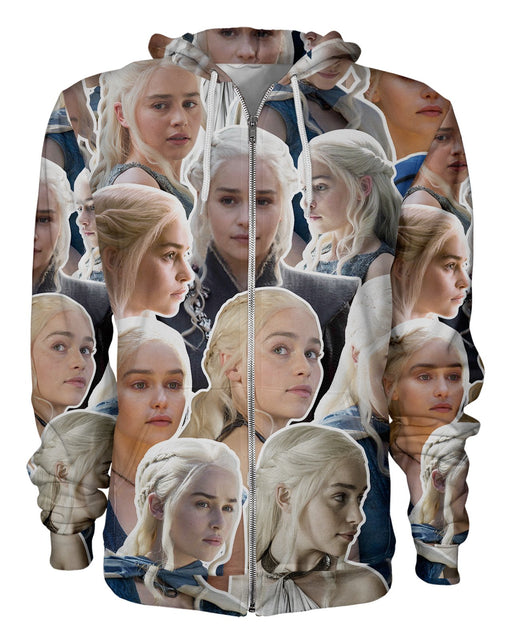 Daenerys Targaryen printed all over in HD on premium fabric. Handmade in California.