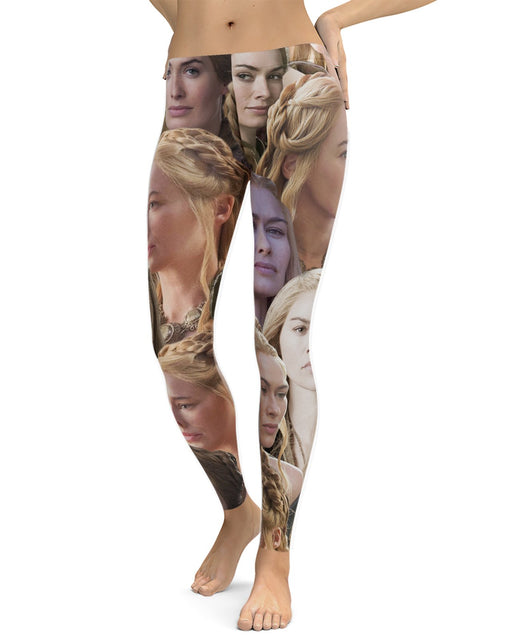 Cersei Lannister printed all over in HD on premium fabric. Handmade in California.