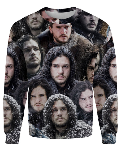 Jon Snow printed all over in HD on premium fabric. Handmade in California.