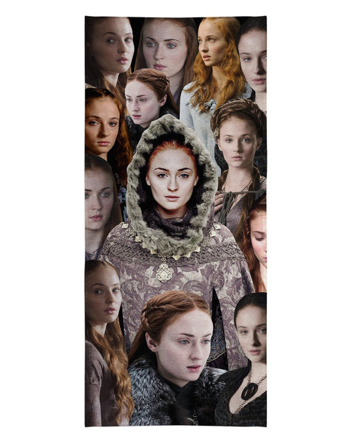Sansa Stark printed all over in HD on premium fabric. Handmade in California.