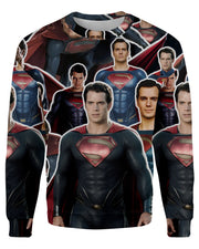 Superman printed all over in HD on premium fabric. Handmade in California.