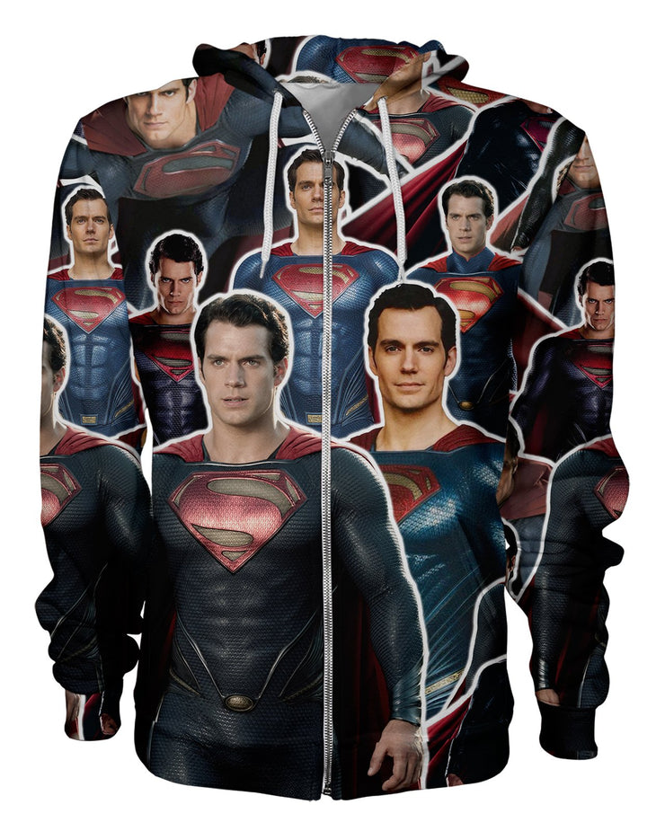 Superman Women's Zip Hoodie