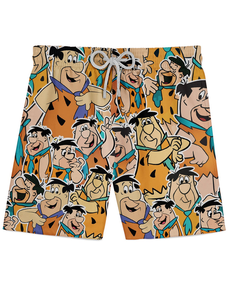 Fred Flintstone printed all over in HD on premium fabric. Handmade in California.