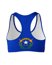 Nevada Flag Sports Bra