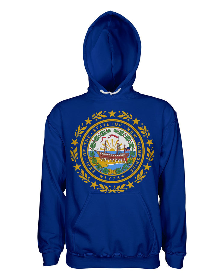 New Hampshire Flag Women's Pullover Hoodie