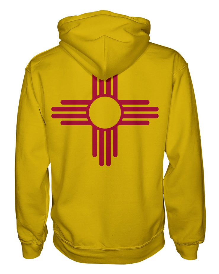 New Mexico Flag Women's Zip Hoodie