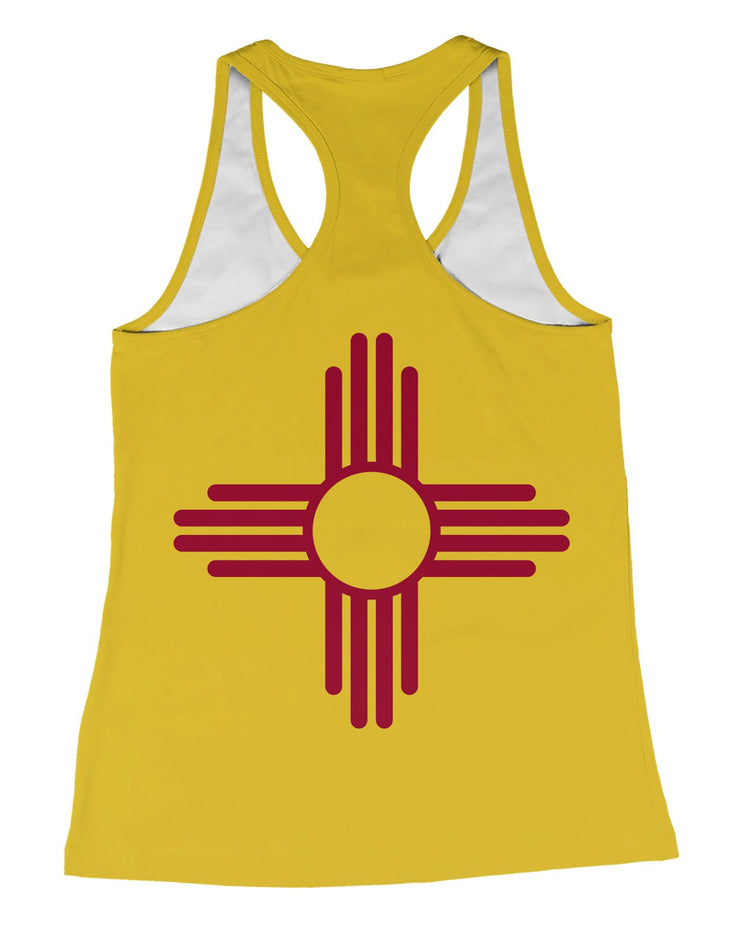 New Mexico Flag Racerback-Tank