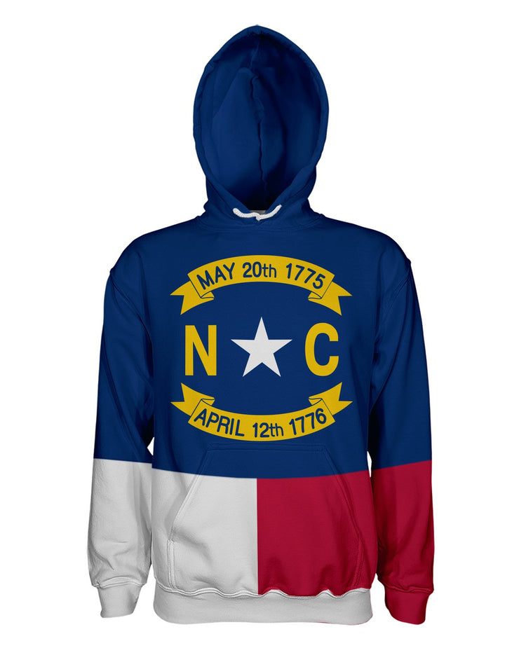 North Carolina Flag Women's Pullover Hoodie