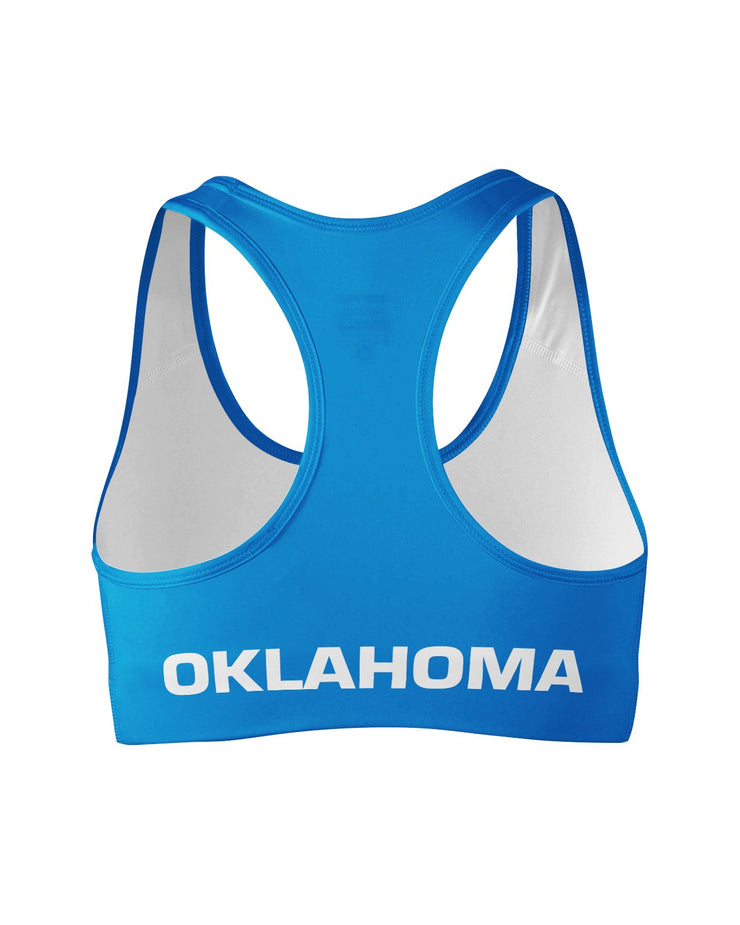 Oklahoma Flag Sports Bra