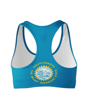 South Dakota Flag Sports Bra