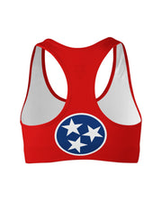 Tennessee Flag Sports Bra