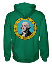 Washington Flag Women's Zip Hoodie