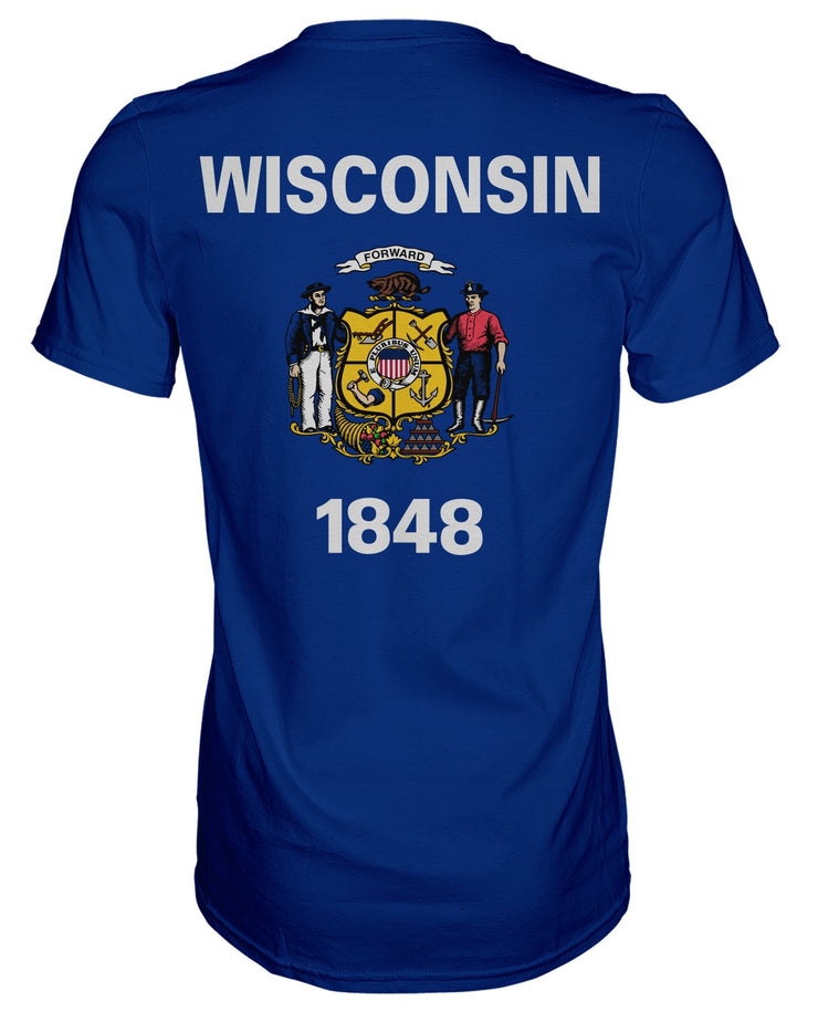Wisconsin Flag T-shirt