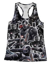 War Machine printed all over in HD on premium fabric. Handmade in California.