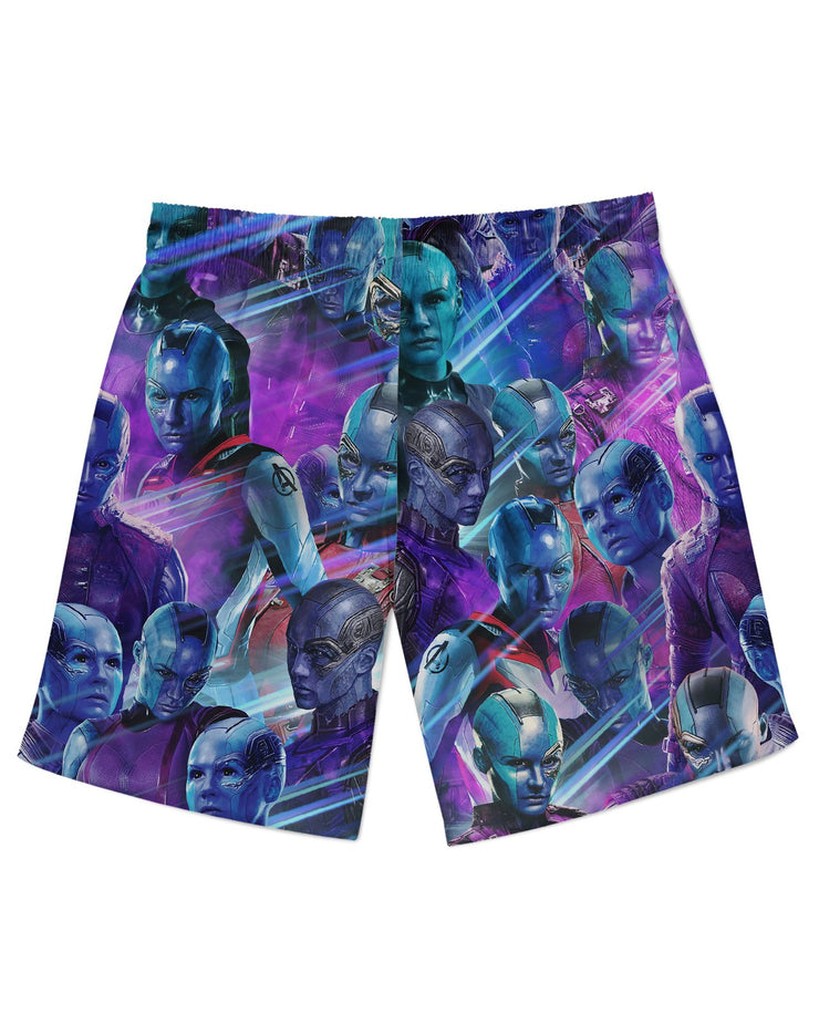 Nebula Athletic Shorts
