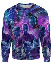 Nebula printed all over in HD on premium fabric. Handmade in California.