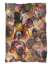 Okoye printed all over in HD on premium fabric. Handmade in California.