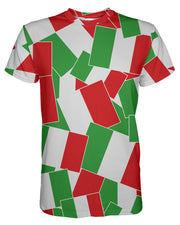 Italy printed all over in HD on premium fabric. Handmade in California.