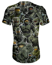 Master Chief Collage T-shirt