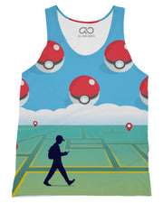 Pokewalker printed all over in HD on premium fabric. Handmade in California.