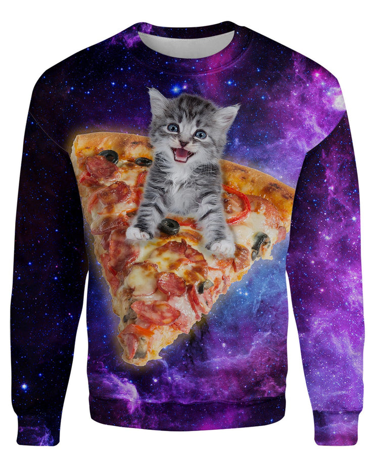 Pizza Kitten Women's Sweatshirt